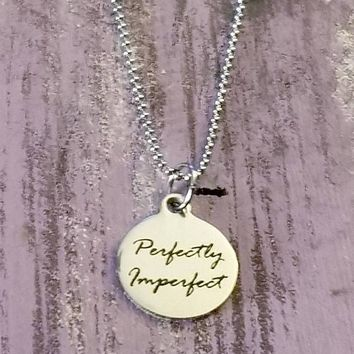 Perfectly Imperfect Stainless Steel Necklace