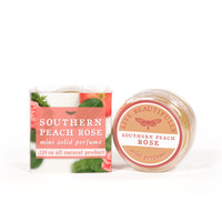 Southern Peach Rose - Mini Solid Perfume