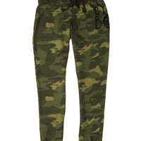 Billabong Women's Wild Moments Fleece Camo Pants Camo