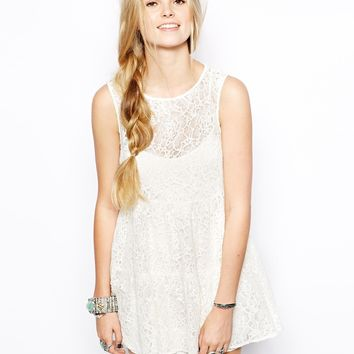 For Love & Lemons Bonnie Lace Dress