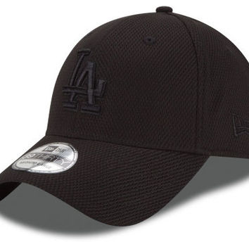 Los Angeles Dodgers MLB Black Diamond Era 39THIRTY Cap