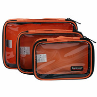 Multifunctional Transparent Cover Portable Travel Toiletry Organization Storage Bag