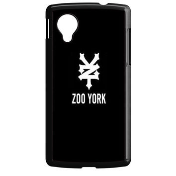 zoo york black logo Nexus 5 Case