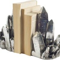 Crystal Bookends (Set of 2)
