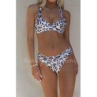 The Pier Leopard Bikini Bottoms