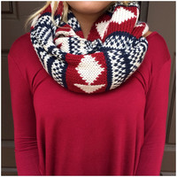 Holiday Exchange Knit Infinity Scarf - Holiday Exchange Knit Infinity Scarf