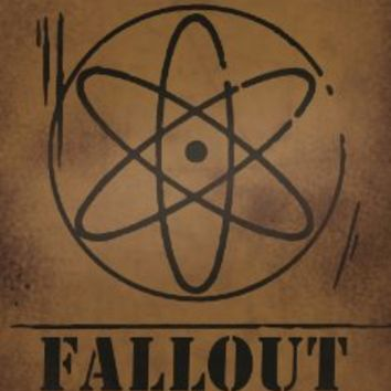 Gravity Falls - Fallout Shelter - Aluminum Sign