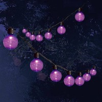 Halloween 35Ct UL Transparent Pet G40 Lights, Purple 35pk - Walmart.com