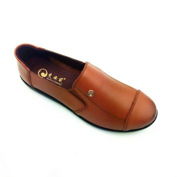 Dongnanfeng Oxford Leather Flats
