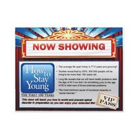 How To Stay Young Large Ticket Full Color Flyer from Zazzle.com