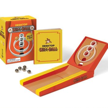 Mini Desktop Skee Ball