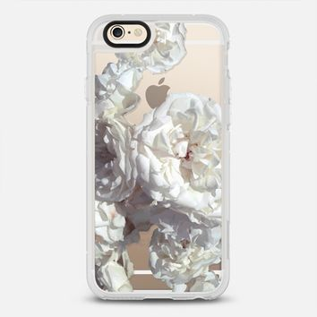 lovely white roses iPhone 6 case by Julia Grifol Diseñadora Modas-grafica | Casetify