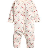 Printed Pajama Jumpsuit - from H&M