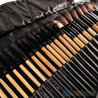 32Pcs Soft Makeup Brushes Professional Cosmetic Make Up Brush Tool Kit Set