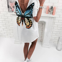 Summer casual dresses women summer beach dress