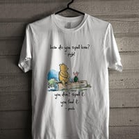 Disney Winnie The Pooh Quotes Shirt For Man And Woman Shirt / Tshirt / Custom Shirt