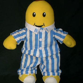 "16"" BANANAS IN PAJAMAS TALKING SINGING STUFFED ANIMAL PLUSH TOY RARE WORKS B1"