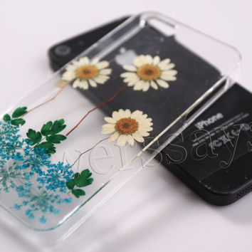 iPhone 6 case iPhone 6 plus Pressed Flower, iPhone 5/5s case, iPhone 4/4s case,  5c case Galaxy S4 S5 Note 2 note 3 Real Flower case NO:F60