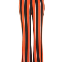 Striped Flared Trousers - Trousers & Leggings - Clothing