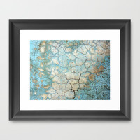 Corroded Beauty Framed Art Print by RichCaspian