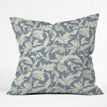 Sabine Reinhart Garden Wall Throw Pillow