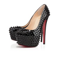 Daffodile Spikes 160mm Black Patent Leather