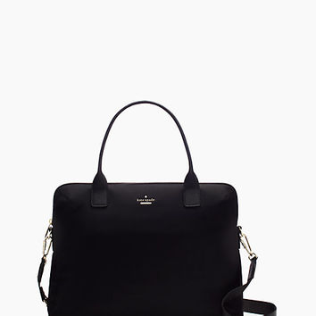 Kate Spade Classic Nylon Daveney Laptop Bag Black ONE