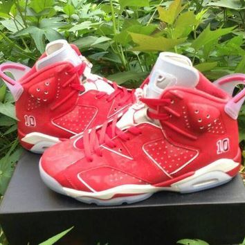 Air Jordan 6 Retro AJ6 x  Slam Dunk Men Women Basketball Shoes