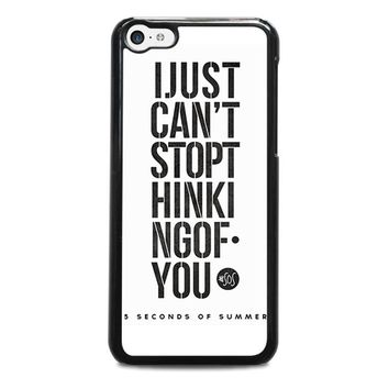 5 SECONDS OF SUMMER 6 5SOS iPhone 5C Case Cover