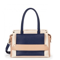 Sole Society Everly Colorblock Structured Satchel