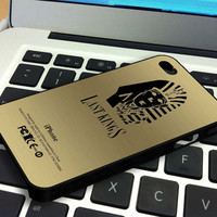 Tyga Last Kings Gold Texture iPhone 4 iPhone 4S Case