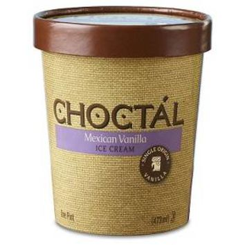 Choctál Mexican Vanilla Ice Cream - 1 Pint : Target
