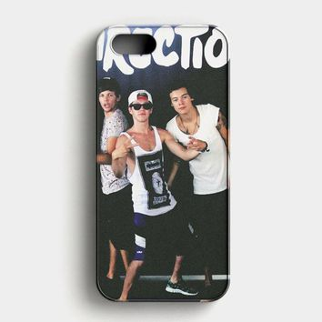 Niall Horan Collage Photo iPhone SE Case