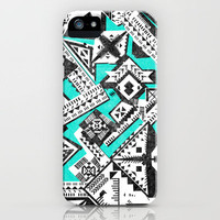 Geometric Pattern iPhone Case by Maximilian San | Society6
