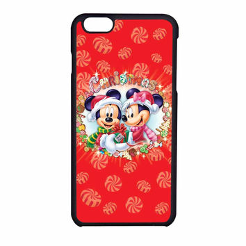 Mickey And Minnie Mouse Disney Christmas iPhone 6 Case