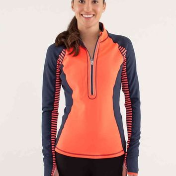 run: u-turn pullover *reversible | women's tops | lululemon athletica