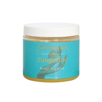 Soothing Touch Salt Scrub - Tangerine - 20 oz