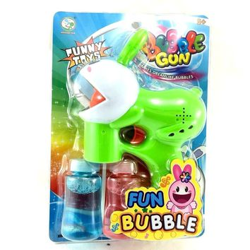 Party Favors Easter Novelty Rabbit Fun Bubble Blaster/Gun (Assorted Types)