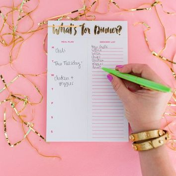 What's for Dinner? Meal Planner