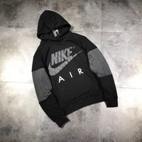 Nike AIR Fashion Hooded Fashion Top Sweater Pullover Hoodie