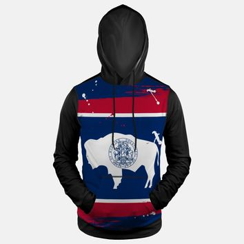 Wyoming State Flag Hoodie (Ships in 2 Weeks)