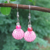 Berry Cute Earrings - Handmade Jewelry by Steampunk Beadery