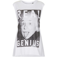 Real Genius Einstein Tank By Tee And Cake