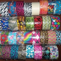 Patterned Duck Brand Duct Tape Roll