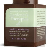 Scottish Fine Soaps Gardeners Therapy 500gm/17.6oz Soothing Muscle Soak