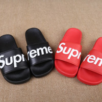 Couples Unisex Supreme Slippers Home Beach Wear
