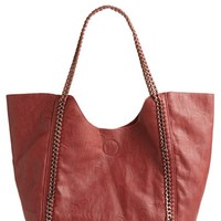 Women's Street Level Faux Leather Tote