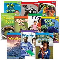 TIME FOR KIDS® Informational Text Grade 1 Readers Set 2 10-Book Set (TIME FOR KIDS® Nonfiction Readers)