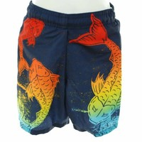 Flapdoodles Boys Swim Trunks - Fish