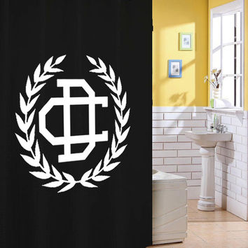 cameron dallas shower curtain